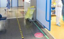 Imagen del interior del Hospital de Guadalajara (Foto. Sescam)