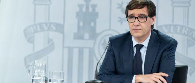 El ministro de Sanidad, Salvador Illa. (Foto. Pool Moncloa Borja Puig de la Bellacasa)