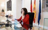 La presidenta de la Comunidad de Madrid, Isabel Díaz Ayuso (Foto. Comunidad de Madrid)