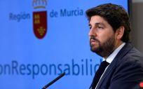 El presidente de la Región de Murcia, Fernando López Miras. (Foto. CARM)