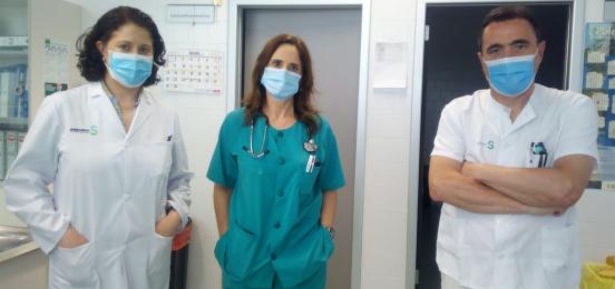 Facultativos del Hospital de Ciudad Real (Foto. Gobierno de Castilla La Mancha)