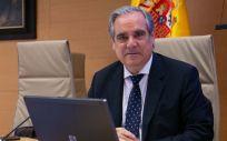 Jesús Aguilar ,presidente del Consejo General de Colegios Oficiales de Farmacéuticos (Foto: Congreso)