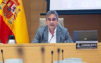 Manuel Cascos, presidente del Sindicato de Enfermería Satse (Foto: Congreso)