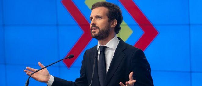 Pablo Casado, presidente del PP (Foto: Flickr PP)