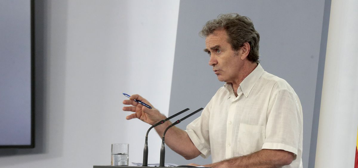 Fernando Simón, director del Centro de Coordinación de Alertas y Emergencias Sanitarias. (Foto. Pool Moncloa.JM Cuadrado)