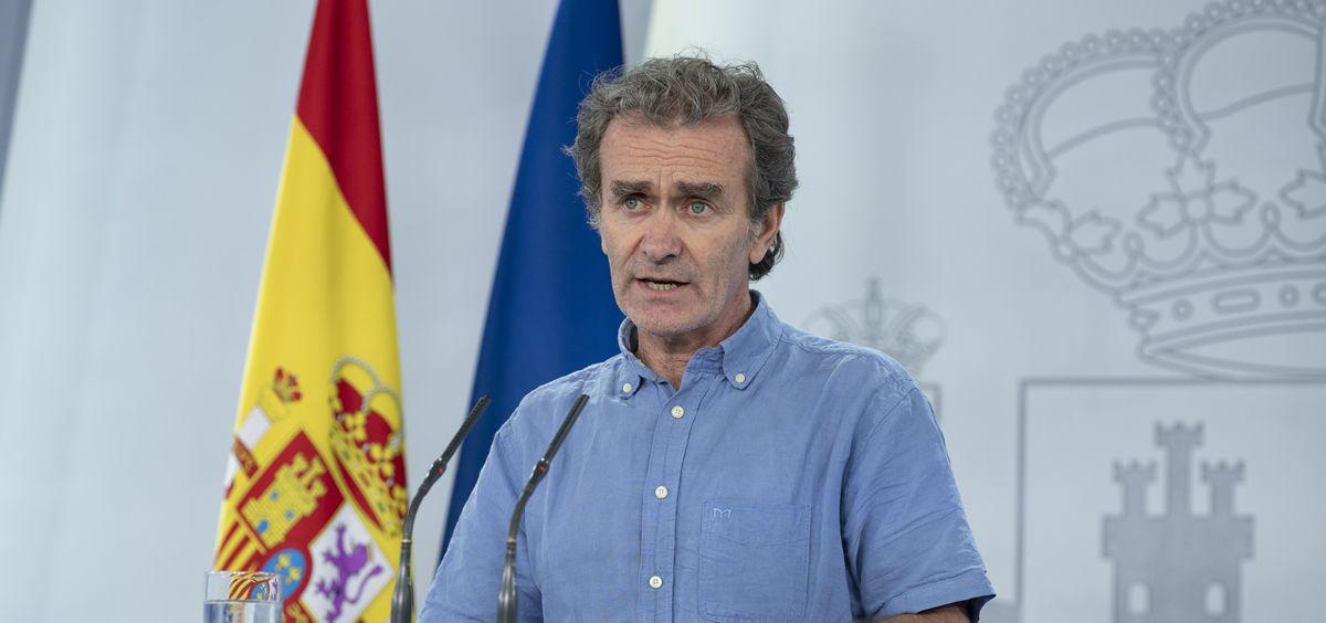 El director del Centro de Coordinación de Alertas y Emergencias Sanitarias (CCAES), Fernando Simón. (Foto. La Moncloa)