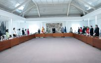 Primera reunión presencial del Consejo de Ministros tras la pandemia del coronavirus (Foto: Pool Moncloa / Borja Puig de la Bellacasa)