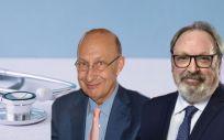 José María Martínez, Presidente Grupo Health Economics; y Juan Blanco, CEO Grupo Mediforum (Foto. Fotomontaje ConSalud)