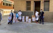 Cofares dona productos de higiene y alimentación infantil a la Casa Cuna Ainkaren de Zaragoza (Foto. ConSalud)