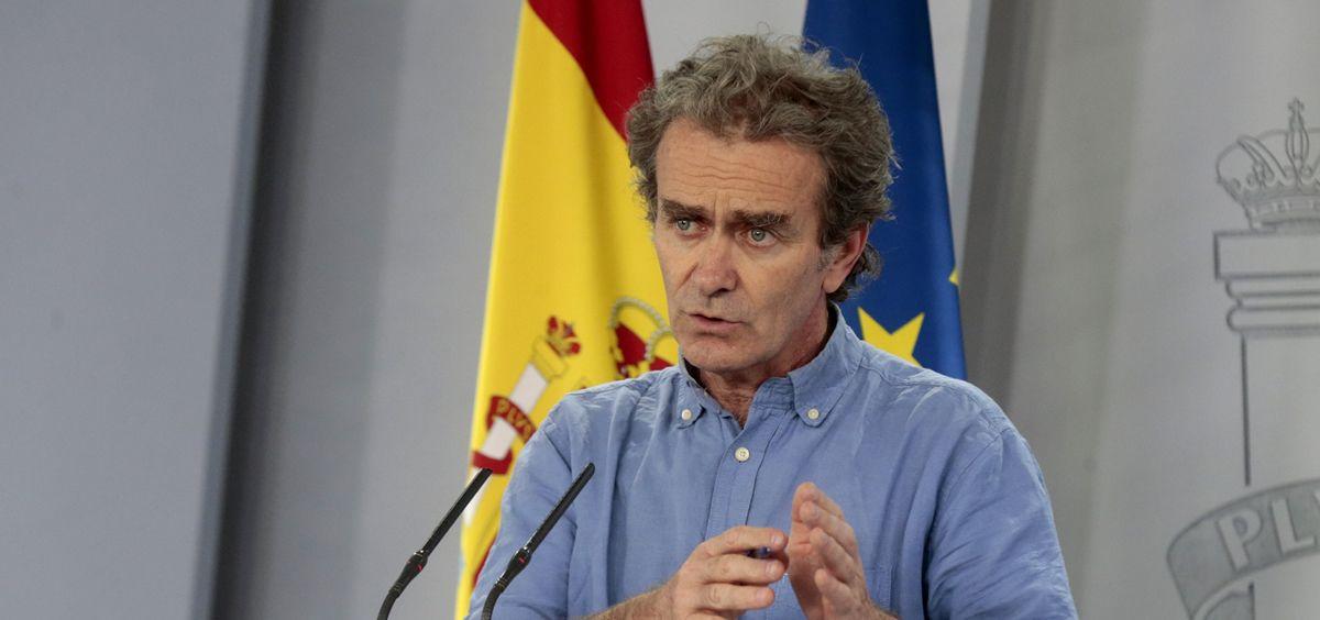 Fernando Simón, director del Centro de Coordinación de Alertas y Emergencias Sanitarias. (Foto. La Moncloa)