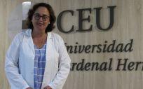 Belén Merck, investigadora principal del proyecto (Foto. ConSalud)