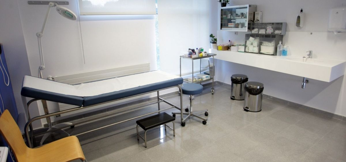 Consulta de pediatría (Foto. Sergas)