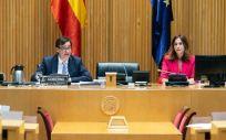 El ministro de Sanidad, Salvador Illa, compareciendo en el Congreso (Foto: Flickr PSOE)