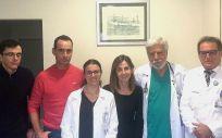 Investigadores del Ciberfes del equipo del doctor José Antonio Serra Rexach (Foto. ConSalud)
