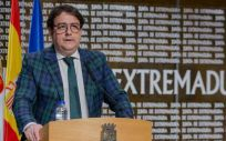 El vicepresidente segundo y consejero de Sanidad y Servicios Sociales de la Junta de Extremadura, José María Vergeles (Foto. Junta de Extremadura)