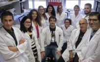 Grupo de investigación del CIBERONC coordinado por Xosé Bustelo en el Centro de Investigación del Cáncer (CIC-IBMCC, Universidad de Salamanca –CSIC) (Foto. Ciber)