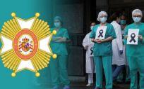 A través de una recogida de firmas, MUD solicita la Orden Civil de Sanidad para los sanitarios fallecidos. (Foto. MUD)