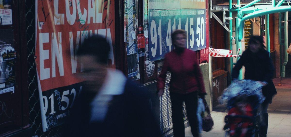 Instantánea de una calle de Madrid. (Foto. Unsplash)