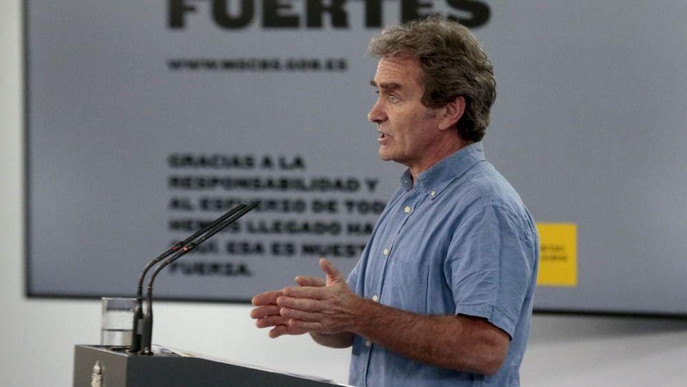 Fernando Simón, director del CCAES (Foto: Pool Moncloa / JM Cuadrado)