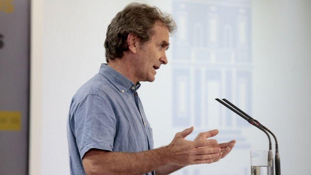 El director del CCAES, Fernando Simón (Foto: Pool Moncloa / JM Cuadrado)