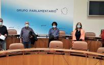 Representantes de CESM Galicia y del PPdeG durante la reunión. (Foto. CESM)