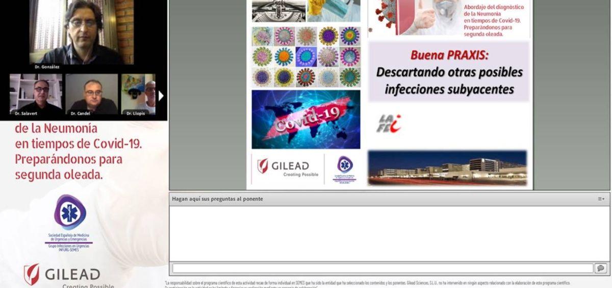 Jornada SEMES y Gilead (Foto. Gilead)