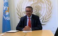 El Dr. Tedros Adhanom, director general de la OMS (Foto: @WHO)