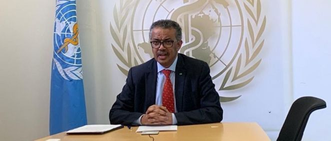 El Dr. Tedros Adhanom, director general de la OMS (Foto: @WHO)