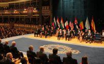 Ceremonia de entrega de los Premios Princesa de Asturias (Foto. Wikipedia)
