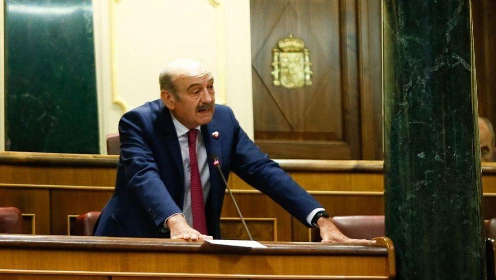 José María Mazón, diputado del PRC en el Congreso de los Diputados (Foto: Congreso)