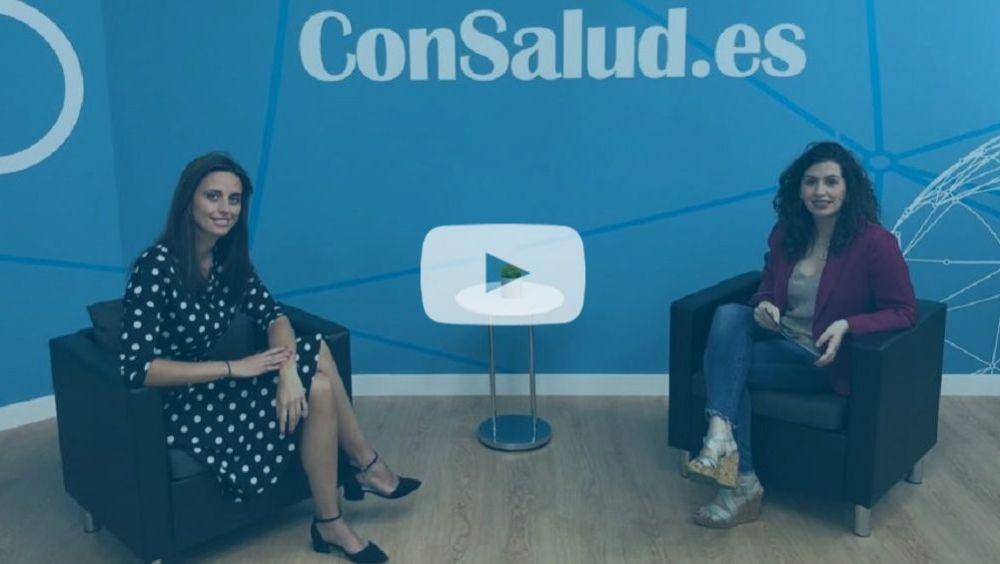 Marta del Olmo, directora corporativa de Atención al Paciente de los Hospitales Públicos de Quirónsalud en Madrid, y Marta Gómez, subdirectora de Publicaciones del Grupo Mediforum