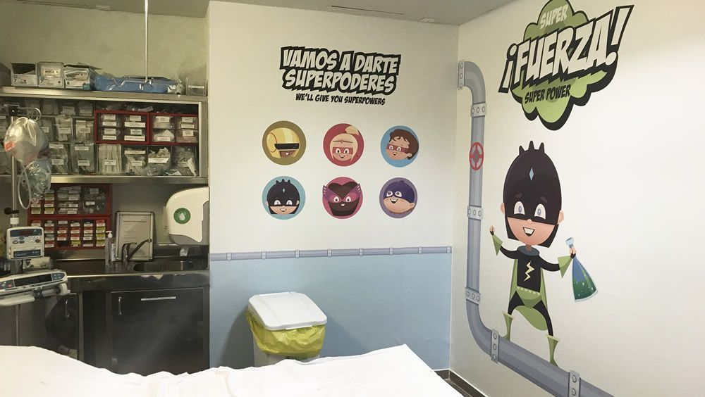 Superhéroes para humanizar las urgencias pediátricas