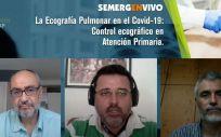 Fotografía del Webinar SEMERGENVIVO sobre la Ecografía Pulmonar (Foto. ConSalud)