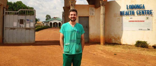 El número uno del FIR, Daniel Gómez Costas, ha escogido Farmacia Hospitalaria en el Hospital Gregorio Marañón (Foto. Daniel Gómez)