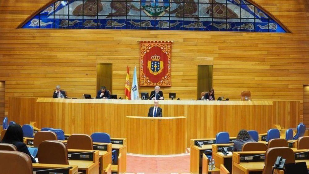 Pleno del Parlamento de Galicia (Foto: Parlamento de Galicia)