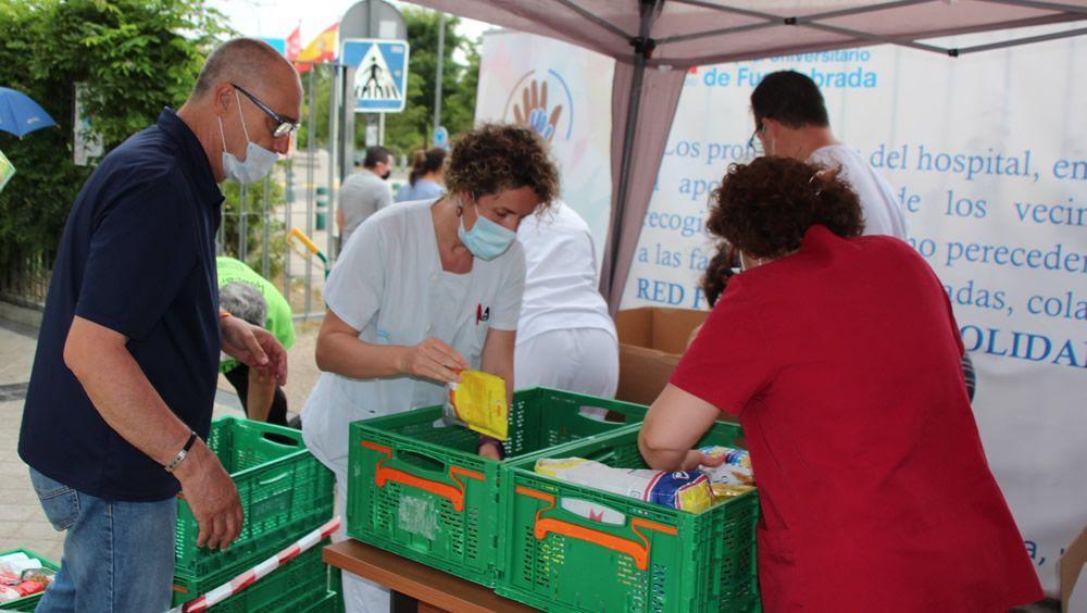 Recogida de alimentos para la población más vulnerable