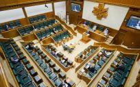 Interior del Parlamento Vasco (Foto: Eusko Legebiltzarra)