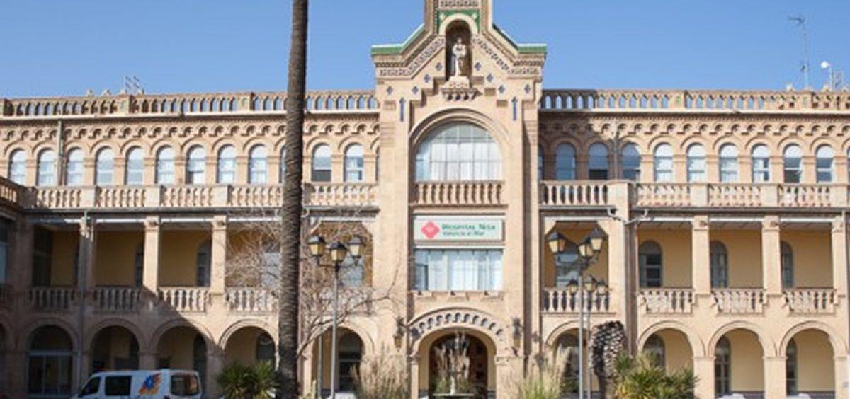 Fachada del Hospital Valencia al Mar (Foto. Vithas)