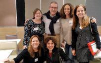 Profesionales de Incliva participantes en el ensayo clínico (Foto. ConSalud)