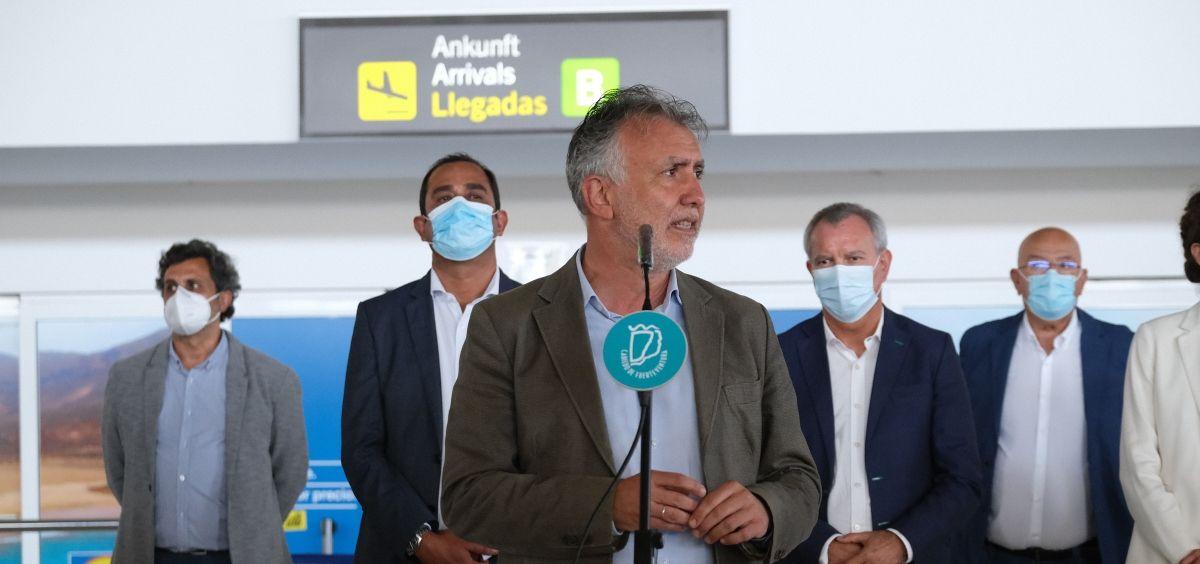 Ángel Víctor Torres (Foto. Gobierno de Canarias)