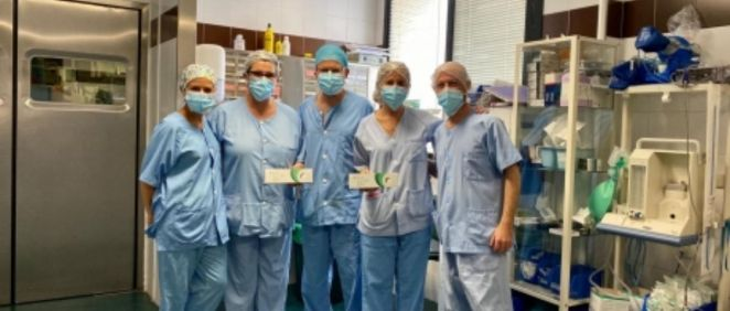 Profesionales de la Unidad de Glaucoma del Clínico de Aragón (Foto. Gobierno de Aragón)