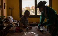 Hospitalización a domicilio (Foto. ConSalud)