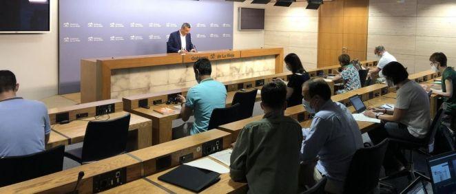 Rueda de prensa del Consejo de Gobierno de La Rioja (Foto. EP)