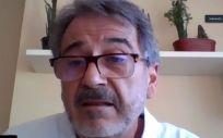Modoaldo Garrido, durante la presentación de la candidatura