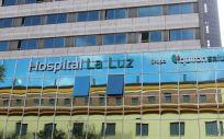 Fachada del Hospital La Luz (Foto. ConSalud)