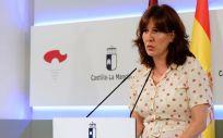 Blanca Fernández, portavoz del Gobierno de Castilla La Mancha (Foto. Gobierno de Castilla-La Mancha)