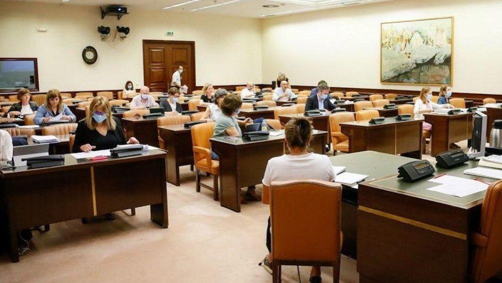 Debate en el grupo de Sanidad de la Comisión para la Reconstrucción (Foto: Congreso)