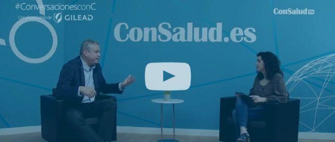 Entrevista al doctor José Luis Calleja, jefe del Servicio de Gastroenterología y Hepatología del Hospital Puerta de Hierro.