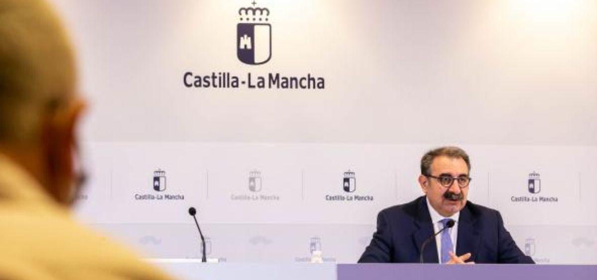 Consejero de Sanidad, Jesús Fernández Sanz (Foto. Sescam)