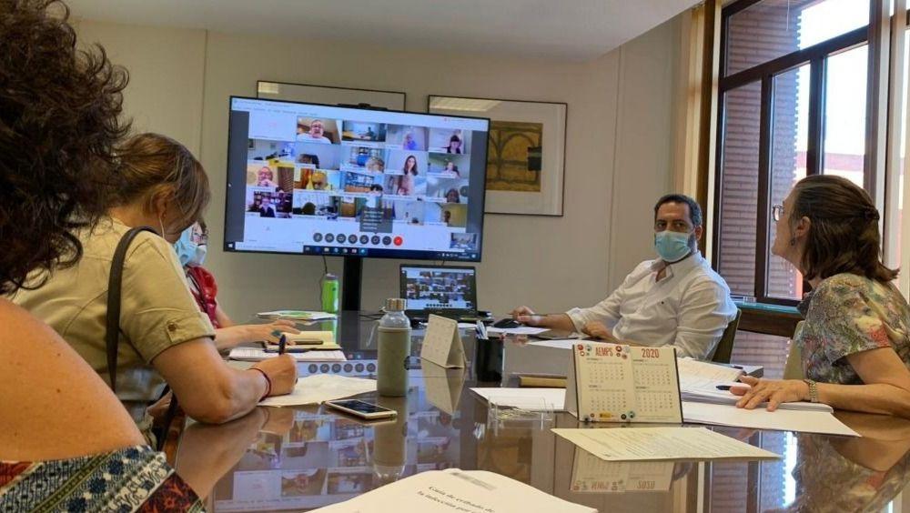 Instante de la reunión de la Comisión de Salud Pública (Foto: Ministerio de Sanidad)